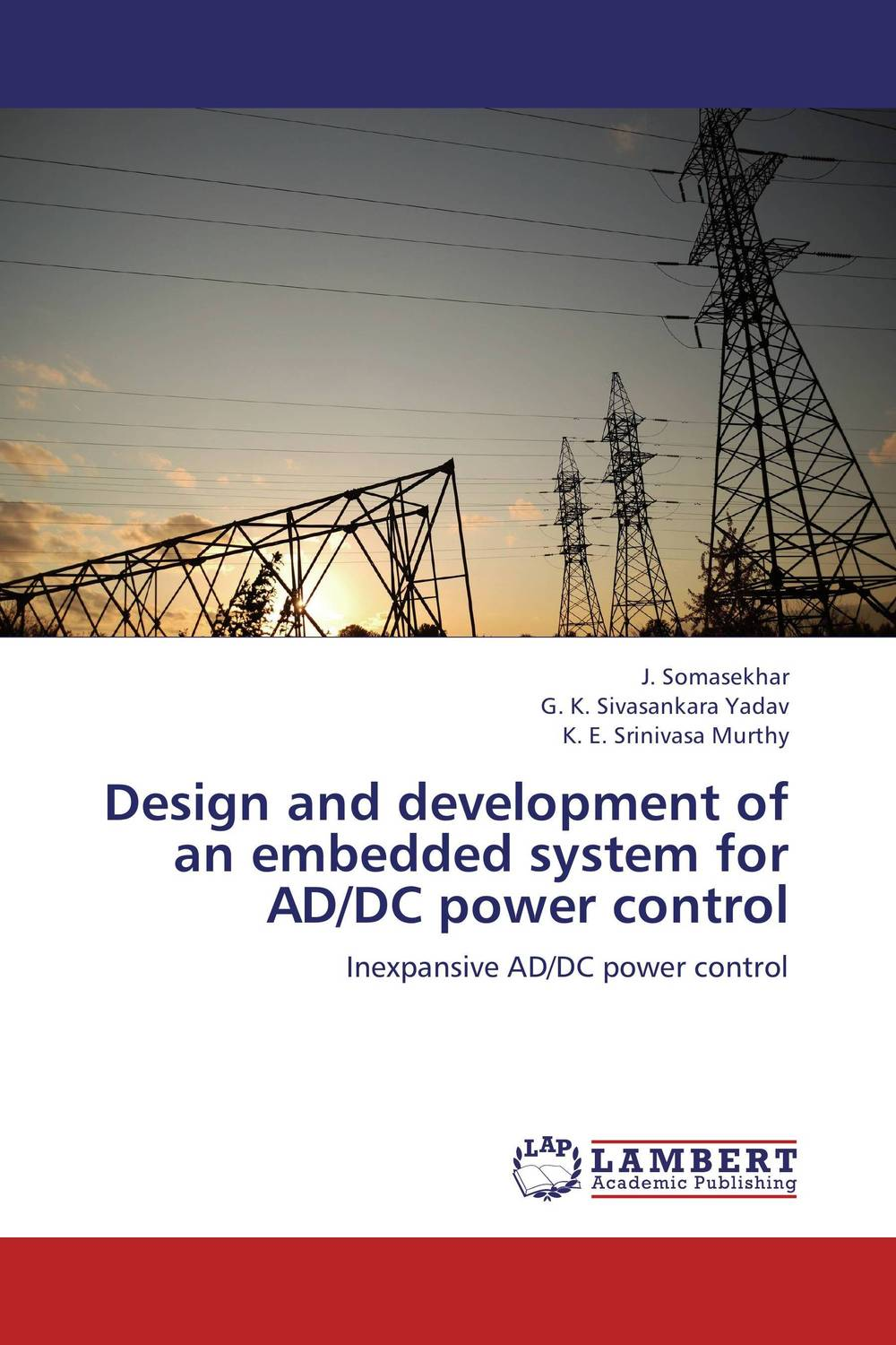 Design and development of an embedded system for AD/DC power control design and development of an embedded system for ad dc power control