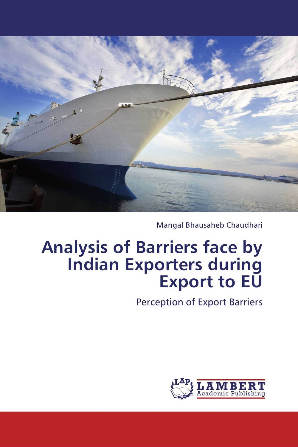 Analysis of Barriers face by Indian Exporters during Export to EU
