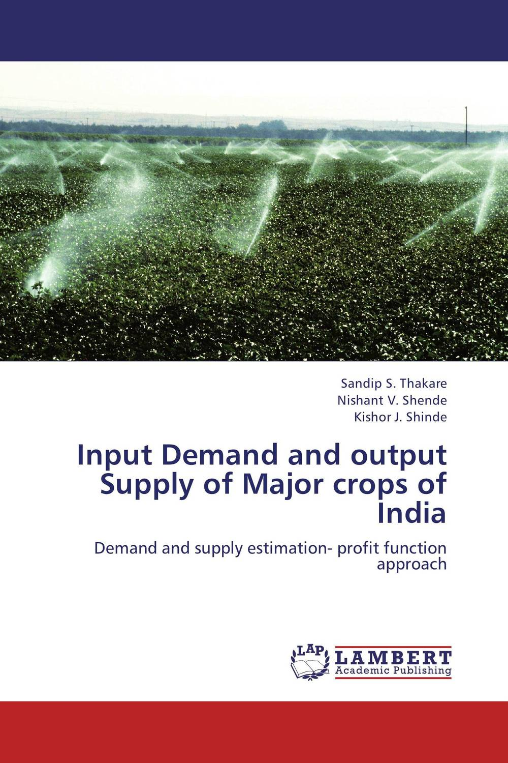 Input Demand and output Supply of Major crops of India rudolf kampf ваза 19 см 24118213 1793 rudolf kampf