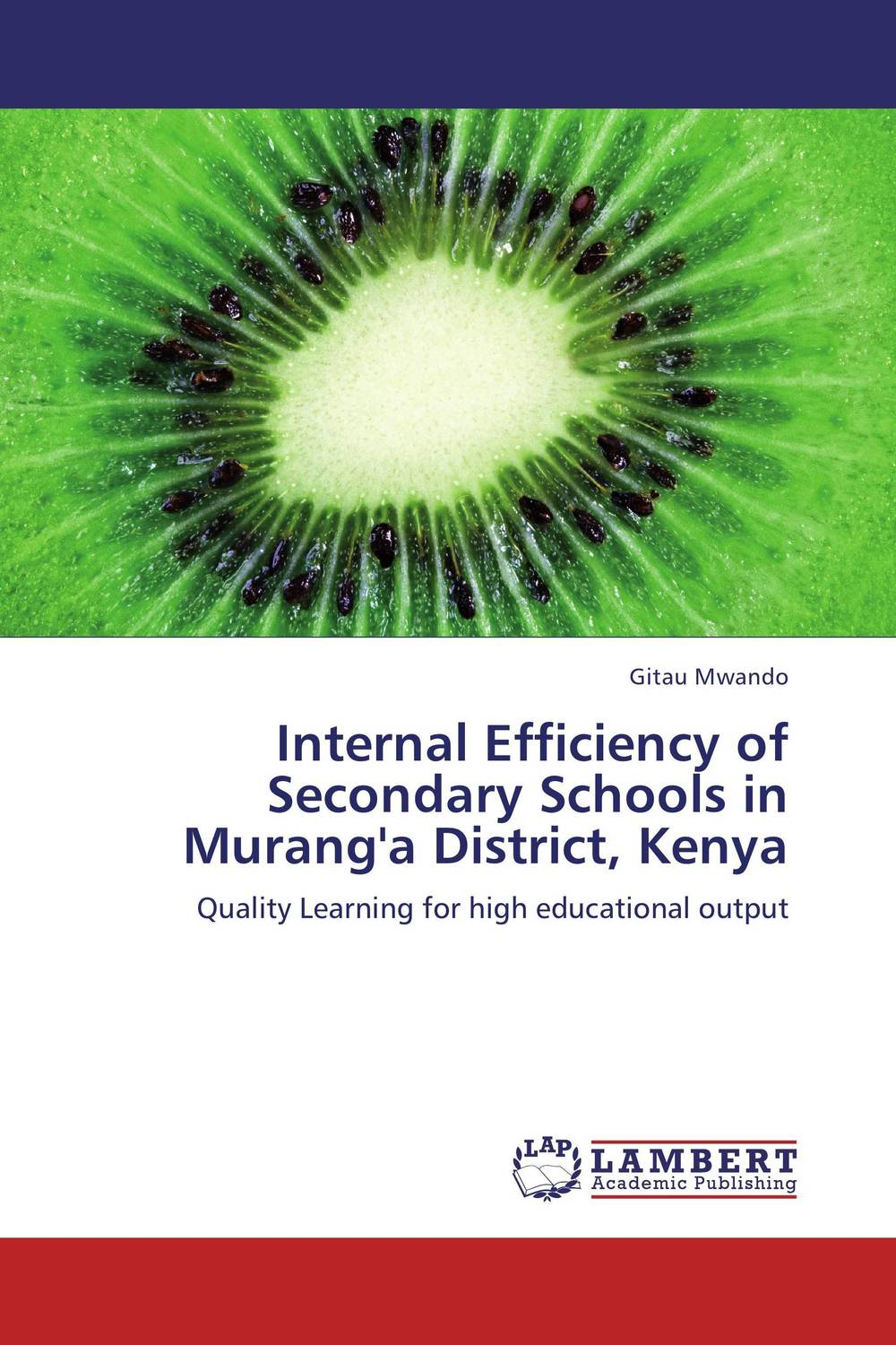 Internal Efficiency of Secondary  Schools in Murang'a District, Kenya the internal load analysis in soccer