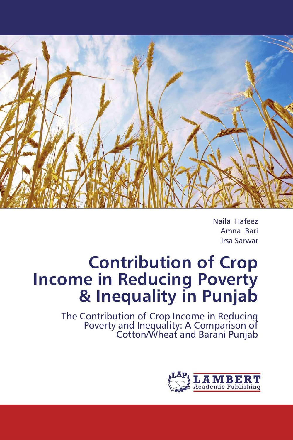 Contribution of Crop Income in Reducing Poverty & Inequality in Punjab john m peckham iii a master guide to income property brokerage boost your income by selling commercial and income properties
