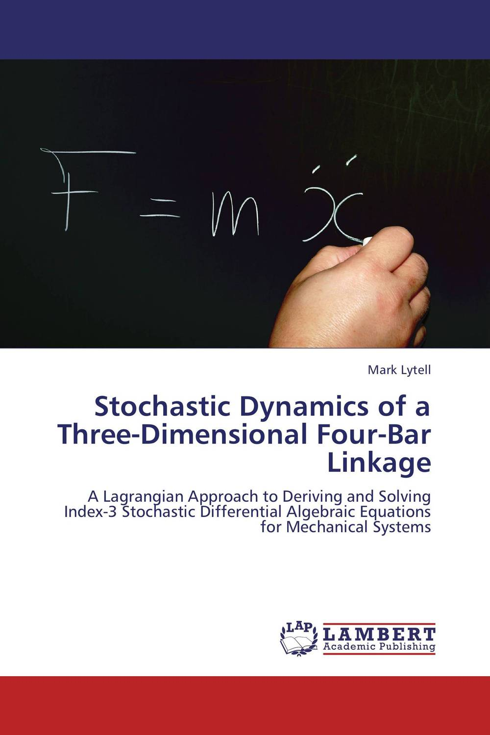 Stochastic Dynamics of a Three-Dimensional Four-Bar Linkage