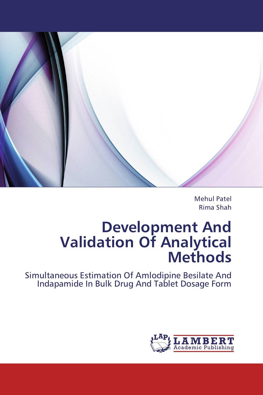Development And Validation Of Analytical Methods raja abhilash punagoti and venkateshwar rao jupally introduction to analytical method development and validation