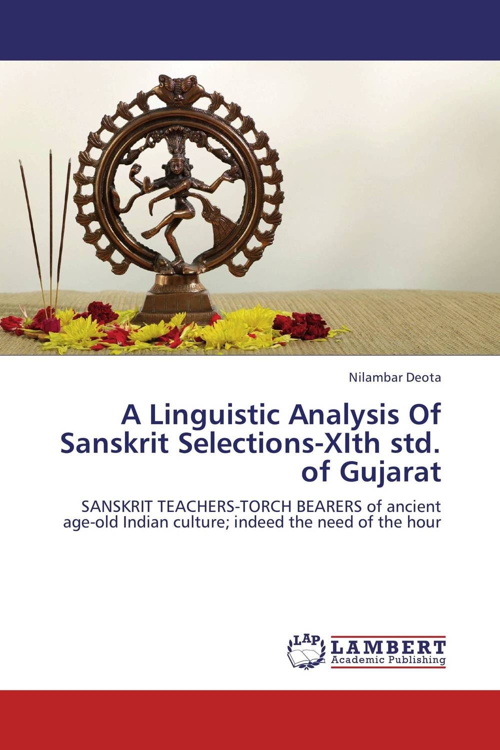 A Linguistic Analysis Of Sanskrit Selections-XIth std. of Gujarat linguistic variation in a multilingual setting