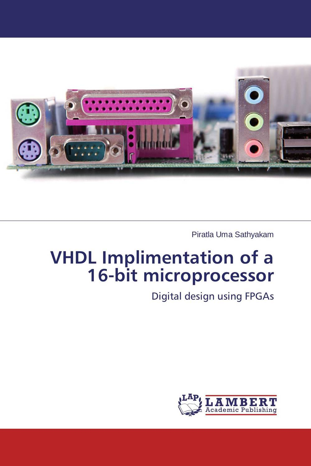 VHDL Implimentation of a 16-bit microprocessor abdulkreem mohameed and ahlam fadhil software hardware design and implementation of jpeg codec on fpga