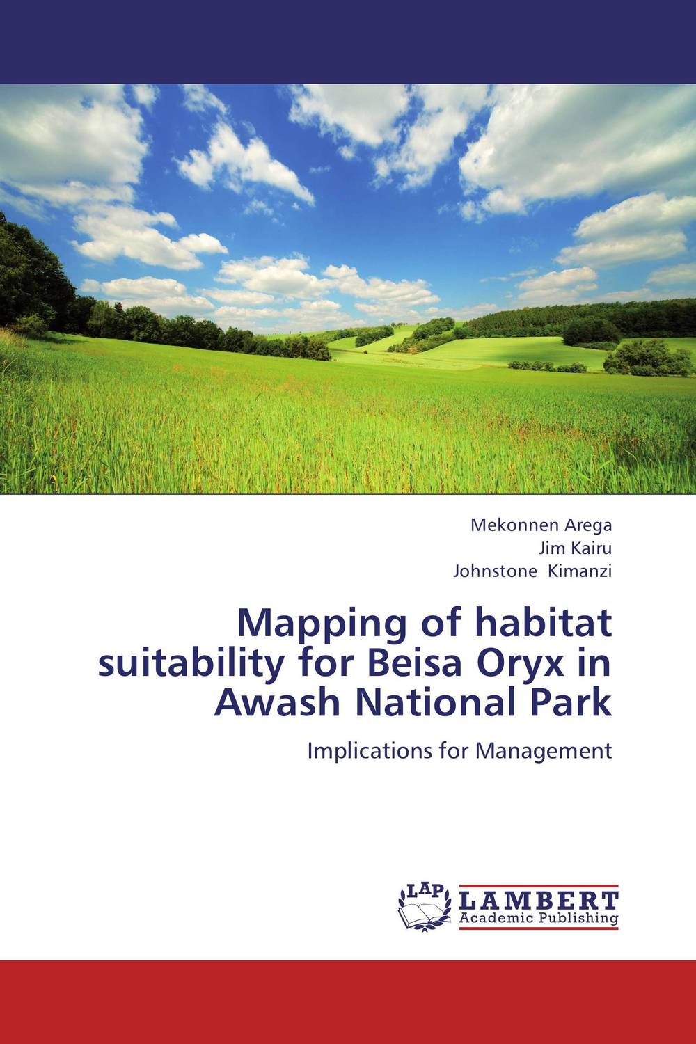 Mapping of habitat suitability for Beisa Oryx in Awash National Park principal diet analysis and habitat suitabiliy mapping of bengal tiger
