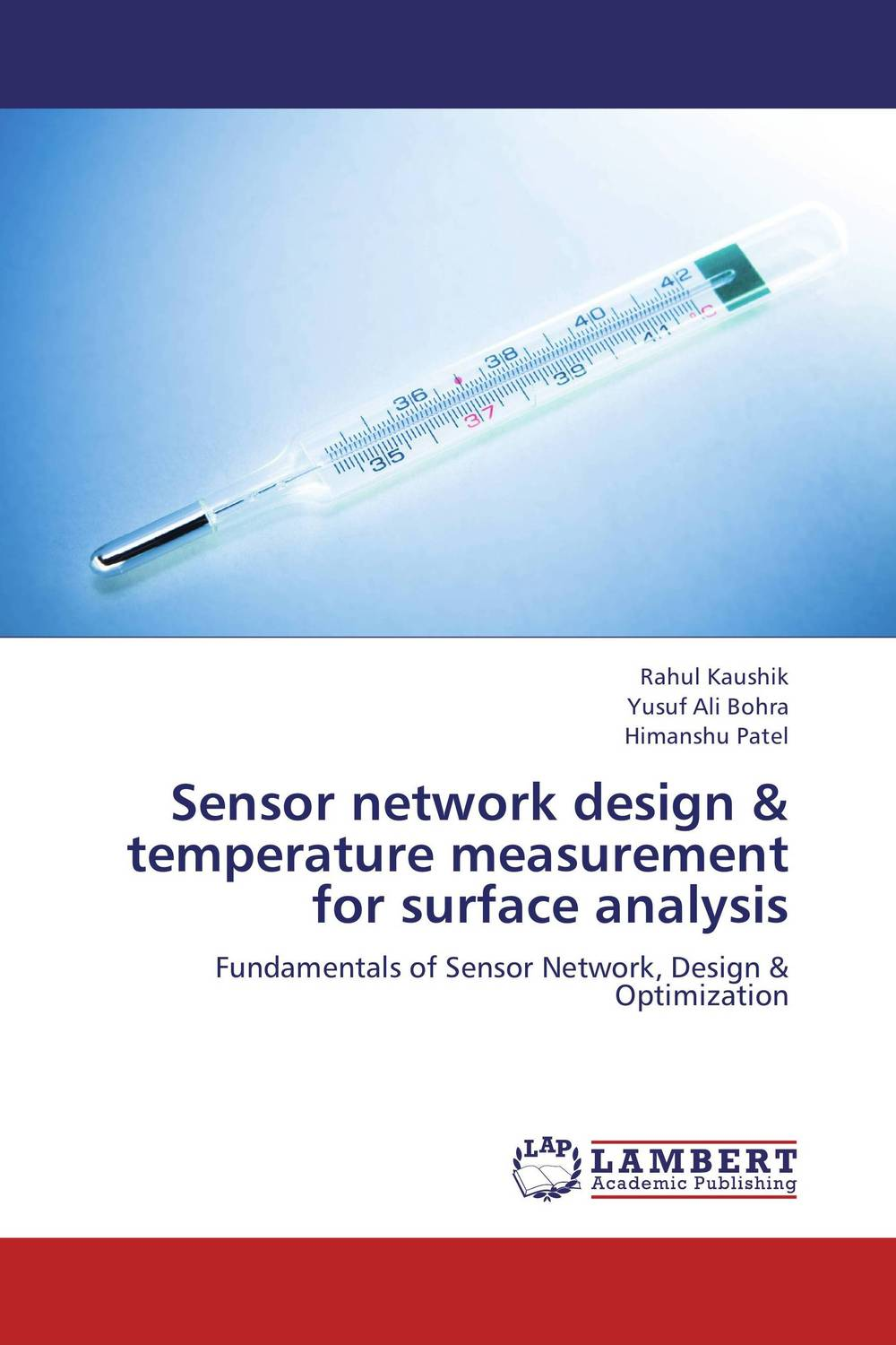 Sensor network design & temperature measurement for surface analysis