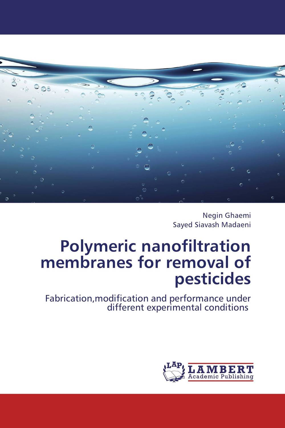 Polymeric nanofiltration  membranes for removal of pesticides developments in surface contamination and cleaning methods for removal of particle contaminants