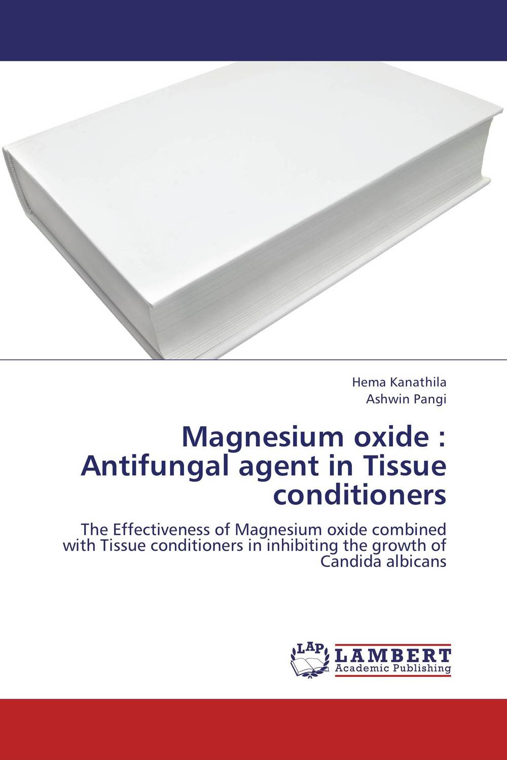 Magnesium oxide : Antifungal agent in Tissue conditioners saif hameed regulation of multidrug resistance in human pathogen candida albicans