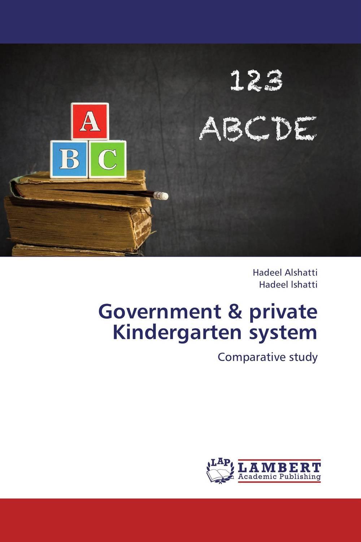 Government & private Kindergarten system