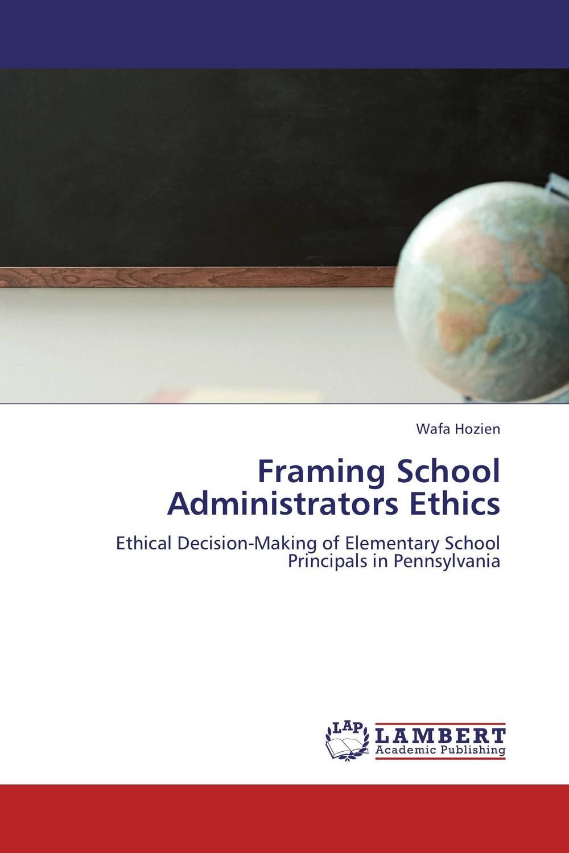 Framing School Administrators Ethics delimitations – phenomenology