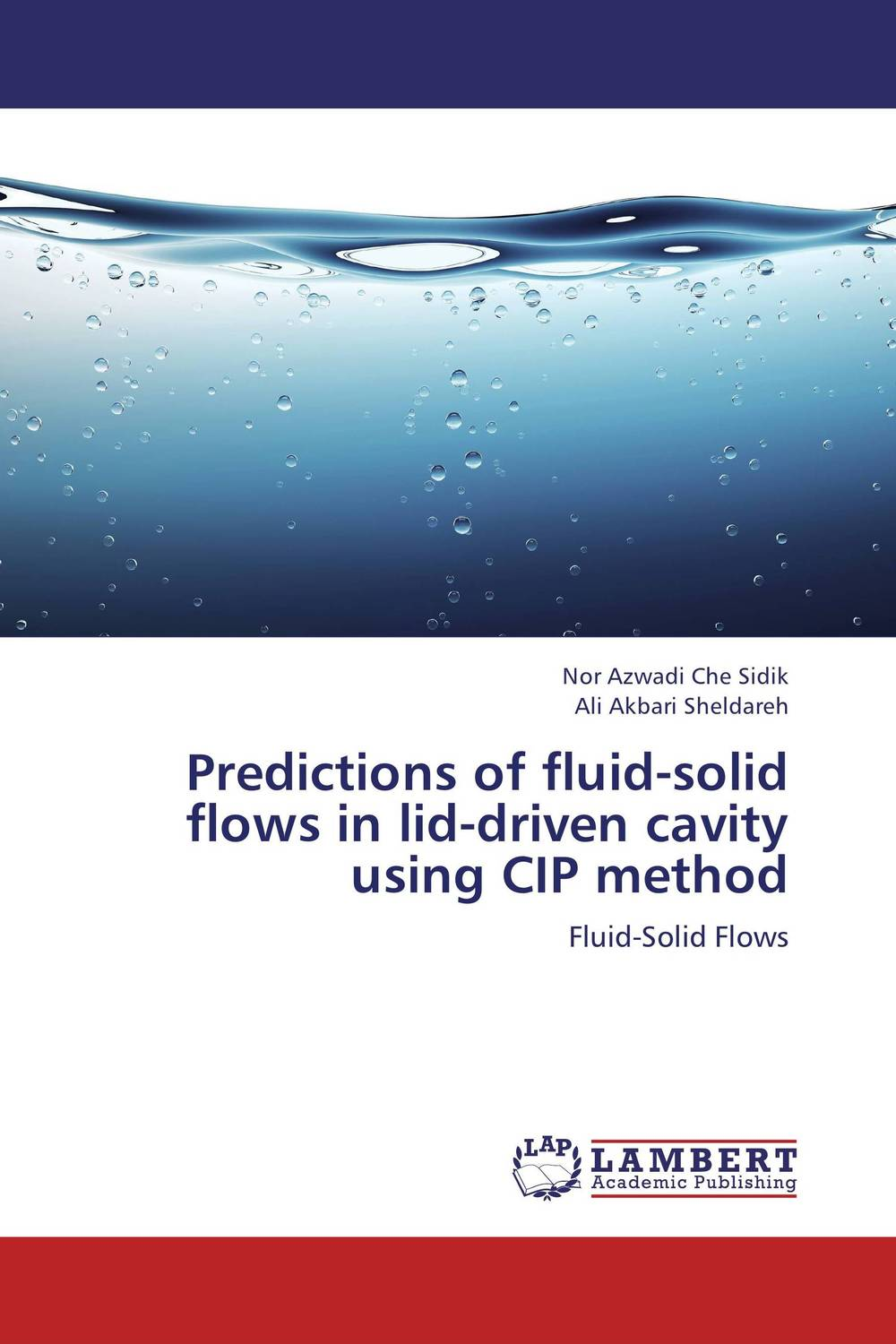 Predictions of fluid-solid flows in lid-driven cavity using CIP method driven to distraction