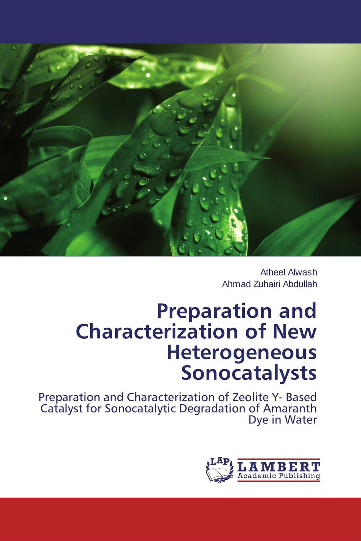 Preparation and Characterization of New Heterogeneous Sonocatalysts