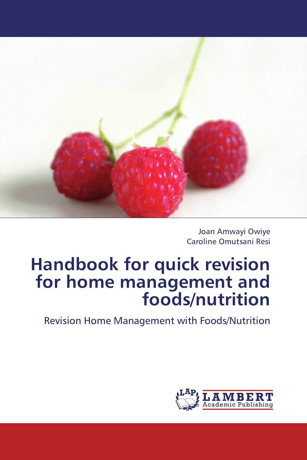 цена на Handbook for quick revision for home management and foods/nutrition