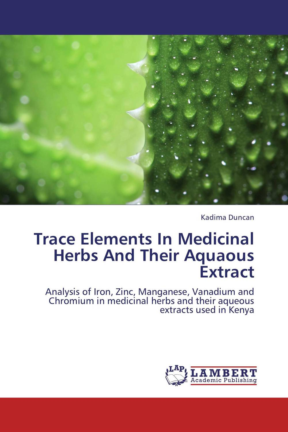 Trace Elements In Medicinal Herbs And Their Aquaous Extract evaluation of aqueous solubility of hydroxamic acids by pls modelling