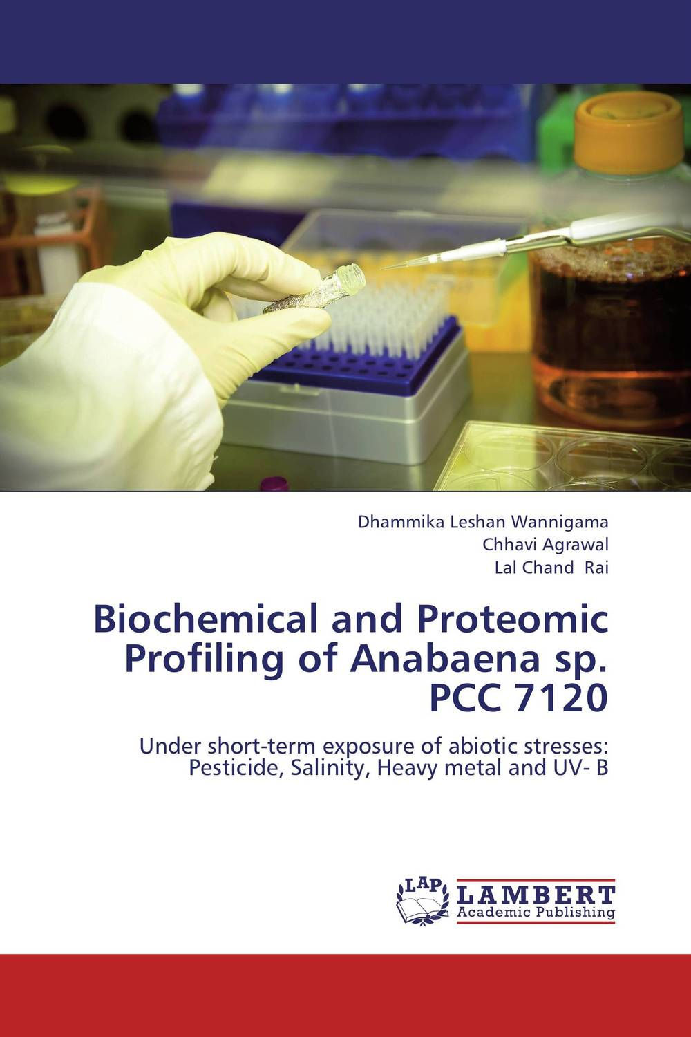 Biochemical and Proteomic Profiling of Anabaena sp. PCC 7120 impurity profiling of drugs and pharmaceuticals