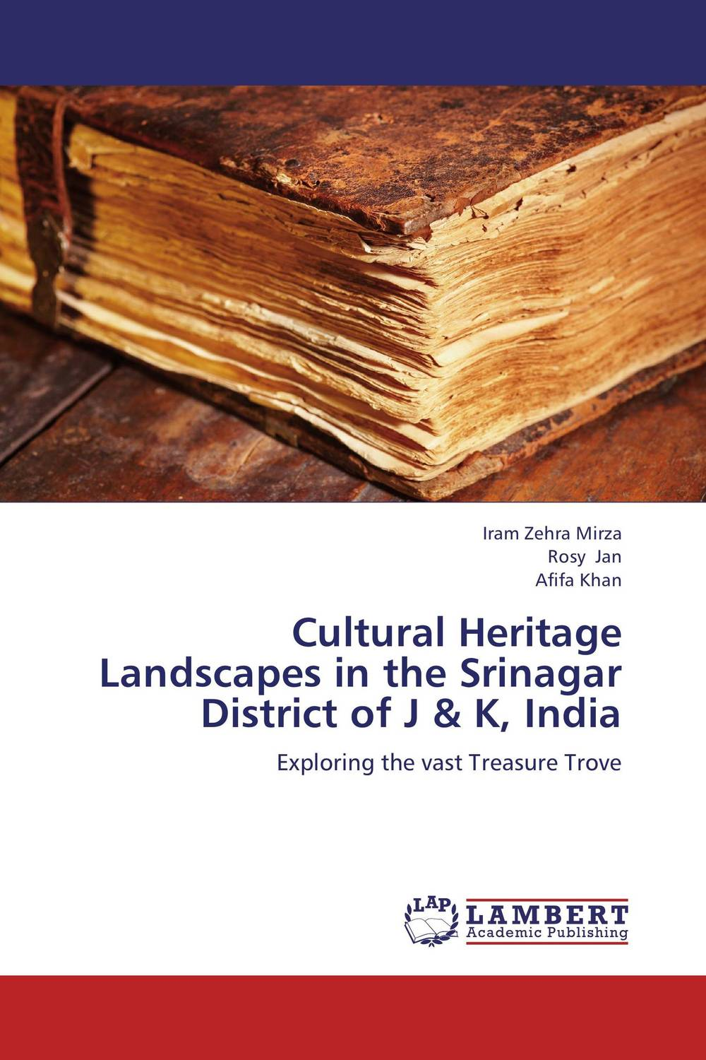 Cultural Heritage Landscapes in the Srinagar District of J & K, India alice a007j br