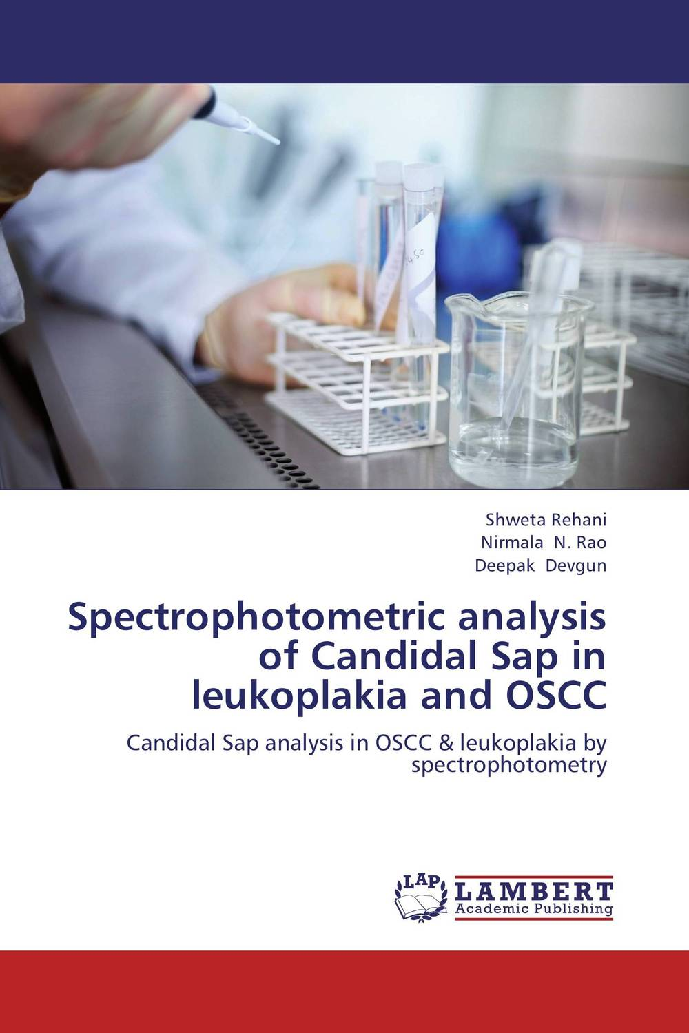 Spectrophotometric analysis of Candidal Sap in leukoplakia and OSCC saif hameed regulation of multidrug resistance in human pathogen candida albicans