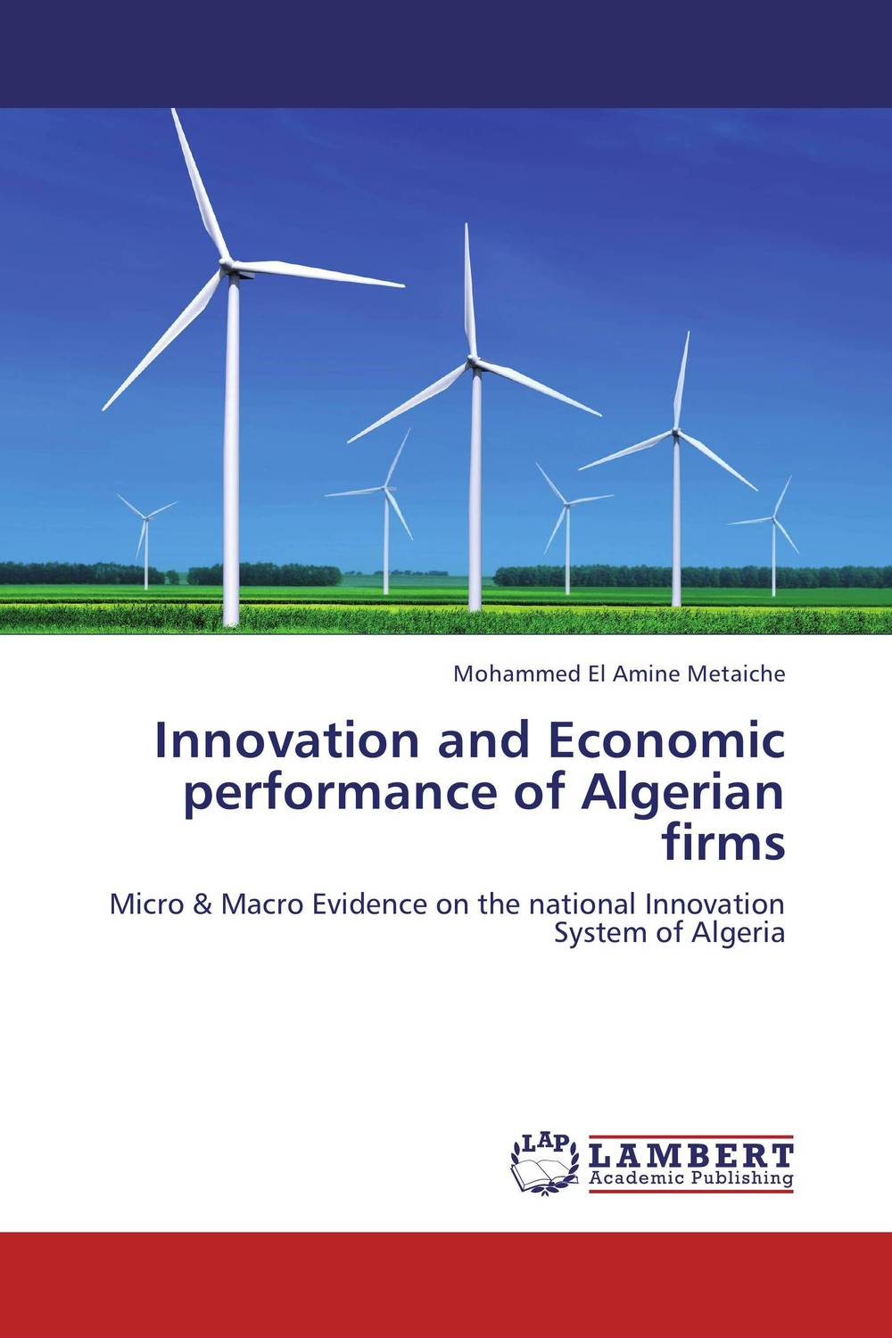 Innovation and Economic performance of Algerian firms duncan bruce the dream cafe lessons in the art of radical innovation