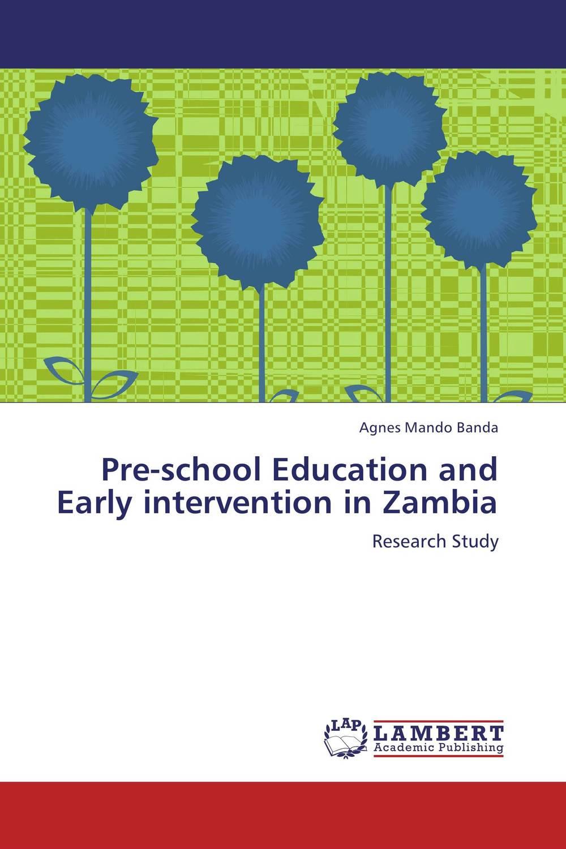 Pre-school Education and Early intervention in Zambia education preschool