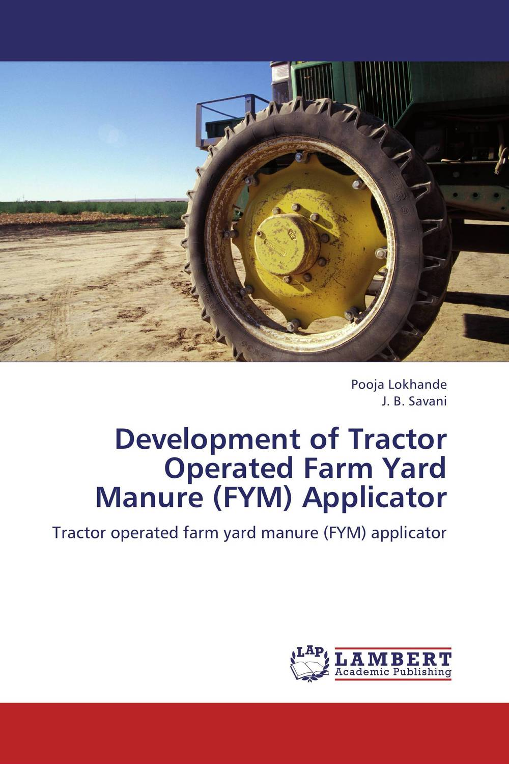 Development of Tractor Operated Farm Yard Manure (FYM) Applicator thermo operated water valves can be used in food processing equipments biomass boilers and hydraulic systems