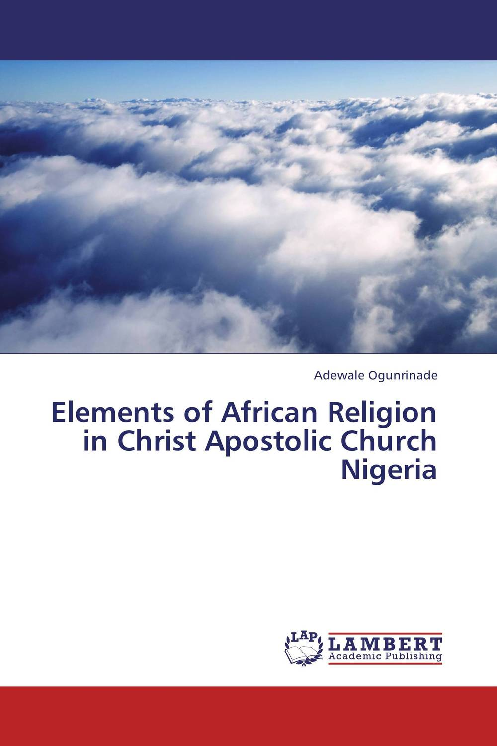 Elements of African Religion in Christ Apostolic Church Nigeria phillip d mazambara the vitality of african indigenous religion