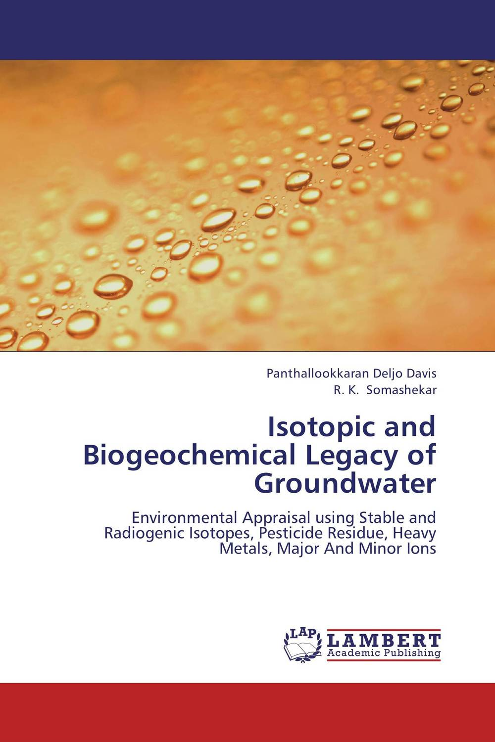 Isotopic and Biogeochemical Legacy of Groundwater impact of groundwater recharge on the surrounding environment