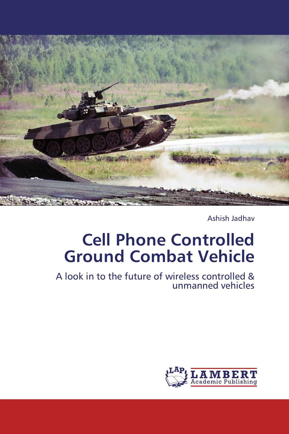 Cell Phone Controlled Ground Combat Vehicle raised from the ground