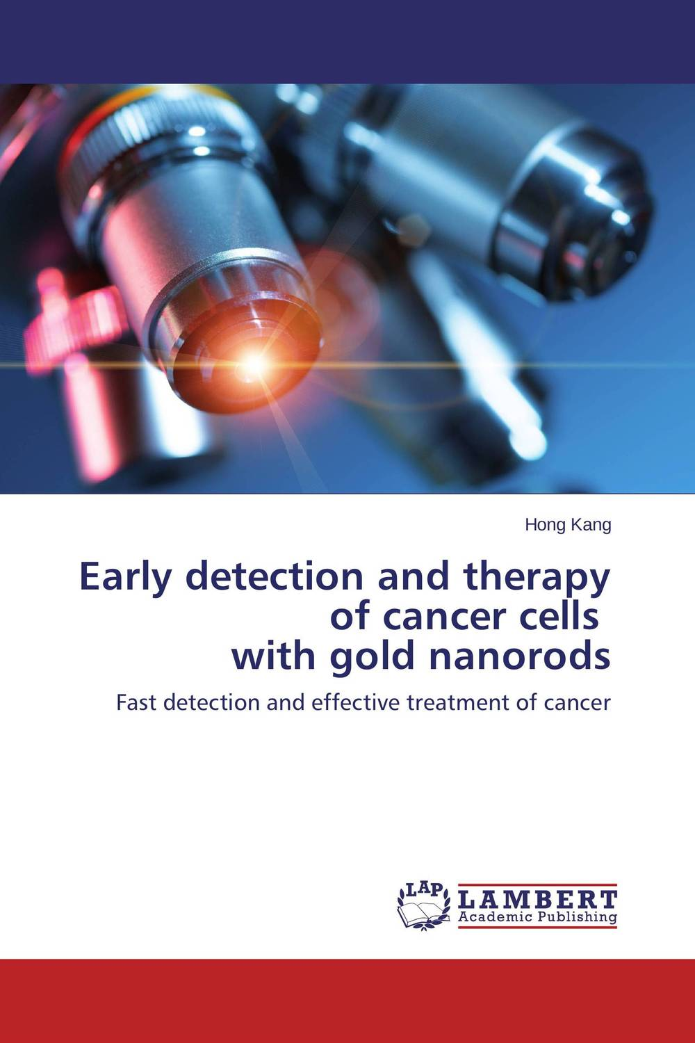 Early detection and therapy of cancer cells   with gold nanorods high quantity medicine detection type blood and marrow test slides