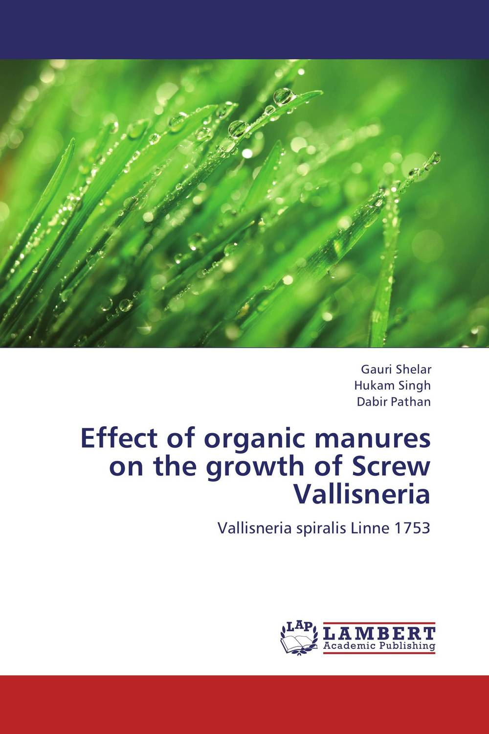 Effect of organic manures on the growth of Screw Vallisneria effect of the organic extract of catha edulis forsk