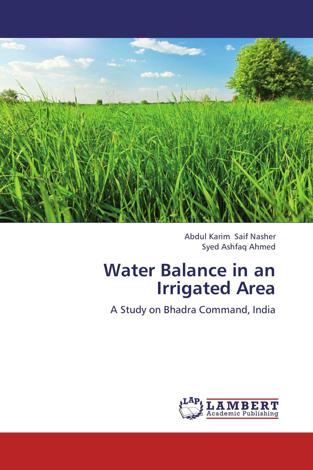 Water Balance in an Irrigated Area wheat genotypes for irrigated and rainfed area using stress indices