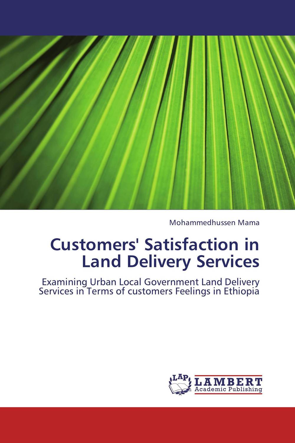 Customers' Satisfaction in Land Delivery Services a comparative study of public and private healthcare services