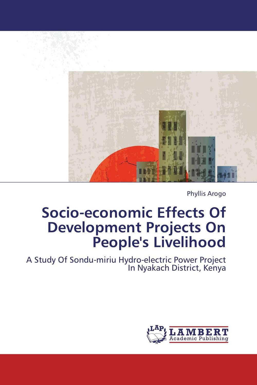 Socio-economic Effects Of Development Projects On People's Livelihood optimal and efficient motion planning of redundant robot manipulators