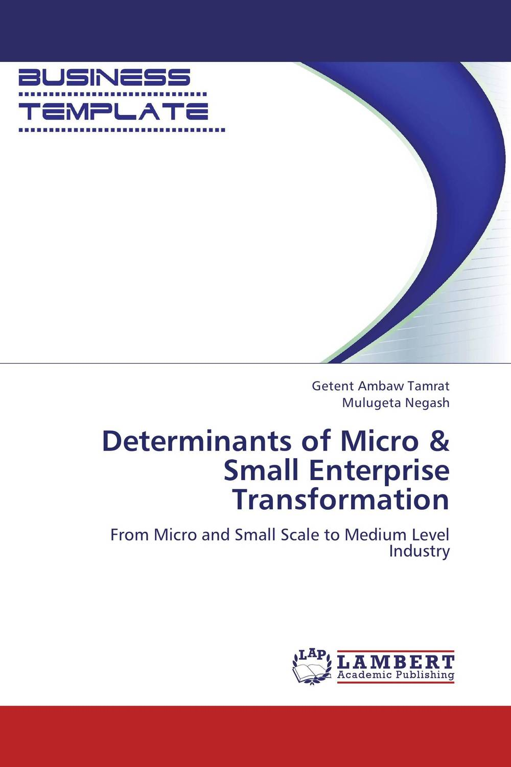Determinants of Micro & Small Enterprise Transformation jaynal ud din ahmed and mohd abdul rashid institutional finance for micro and small entreprises in india