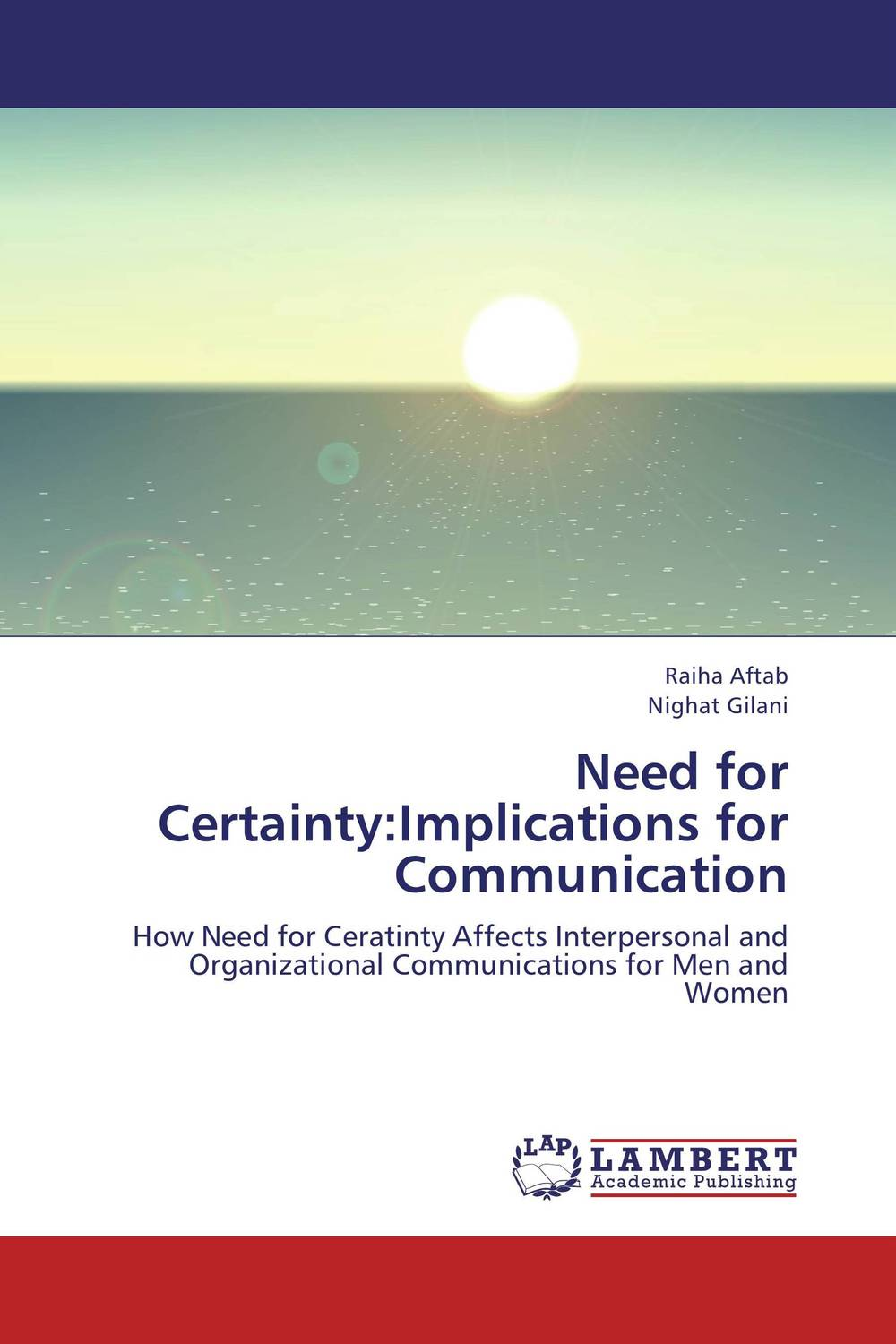 Need for Certainty:Implications for Communication need for speed rivals