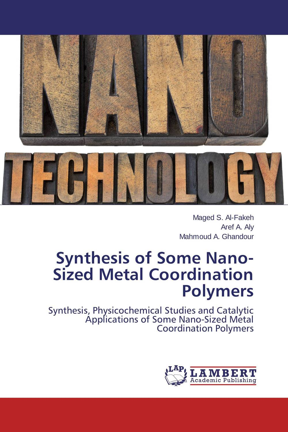 Synthesis of Some Nano-Sized Metal Coordination Polymers synthesis characterization and applications of nano cdha