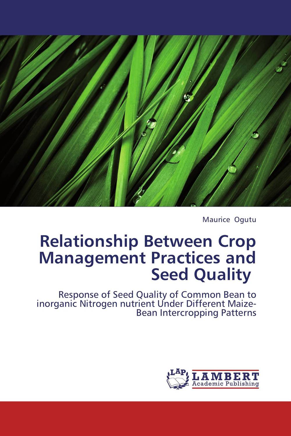 Relationship Between Crop Management Practices and Seed Quality pradeep kumar pandey and pradeep kumar shrotria sugarcane seed sett management