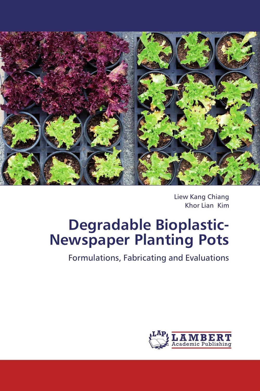 Degradable Bioplastic-Newspaper Planting Pots