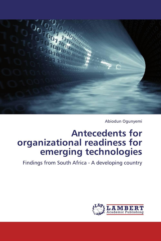 Antecedents for organizational readiness for emerging technologies zte zte blade z7 lte silver