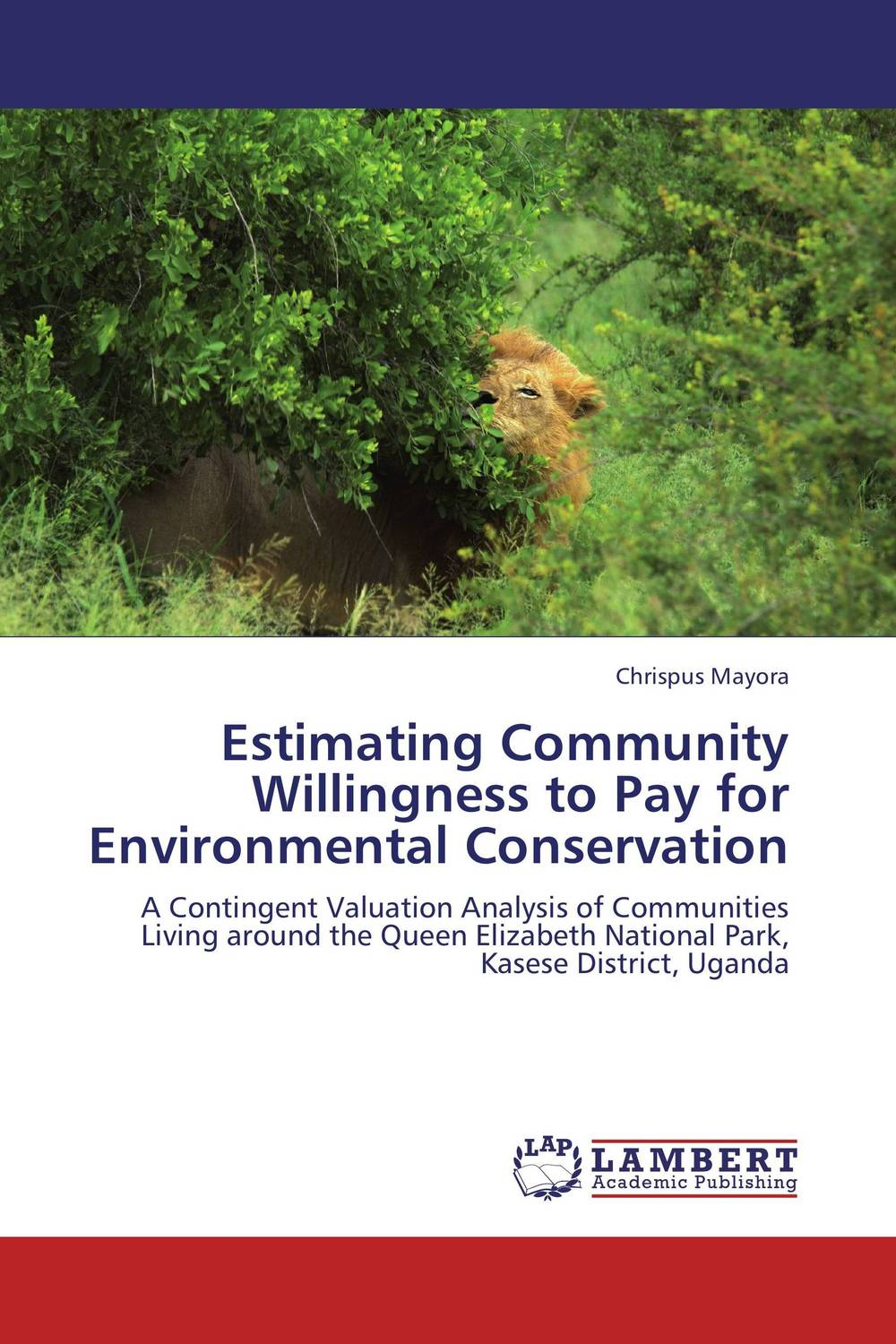Estimating Community Willingness to Pay for Environmental Conservation ali issa estimating the demand for money in libya an application of the lagrange multiplier structural break unit root test and the ardl cointegration approach