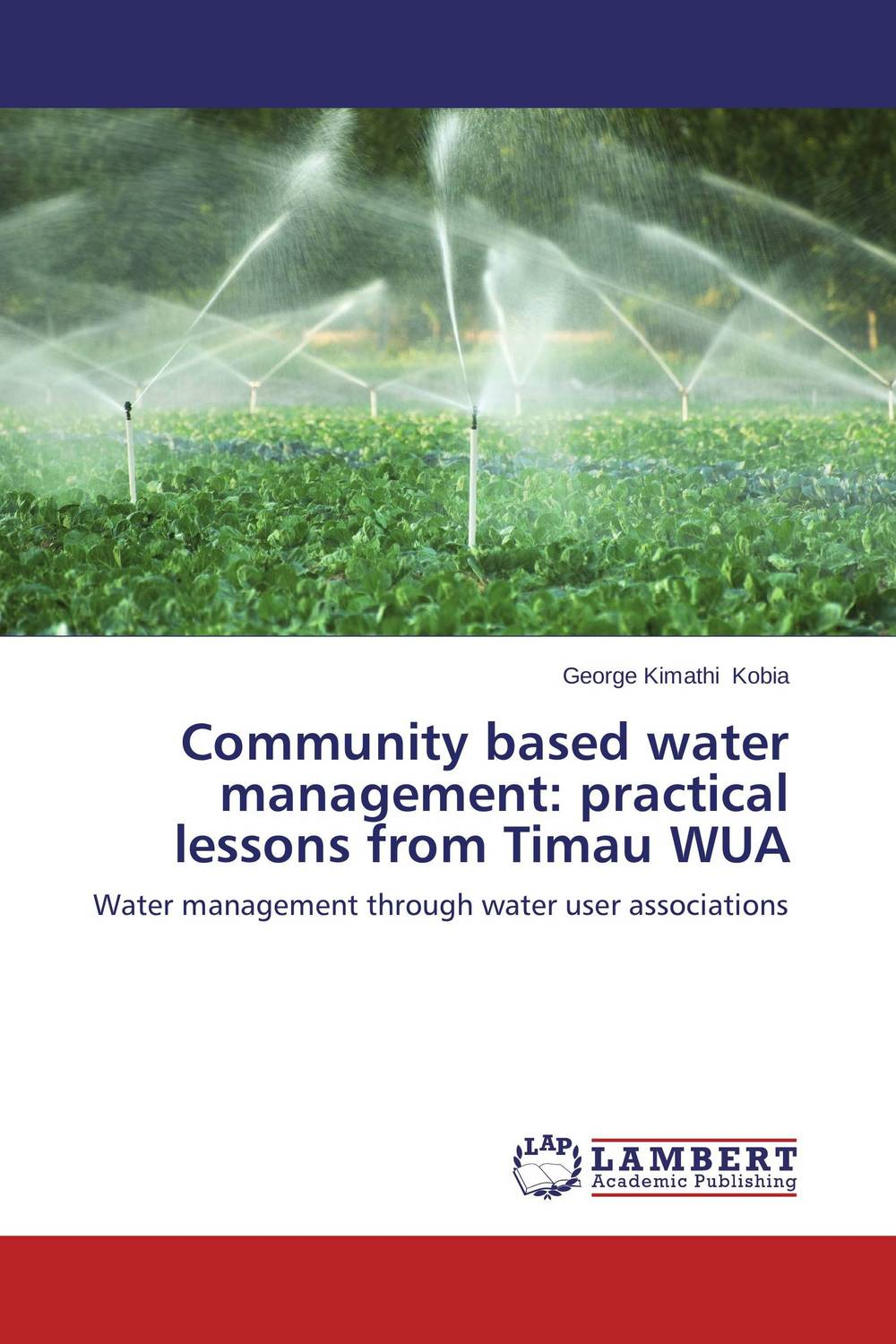 Community based water management: practical lessons from Timau WUA community spate irrigation in raya valley