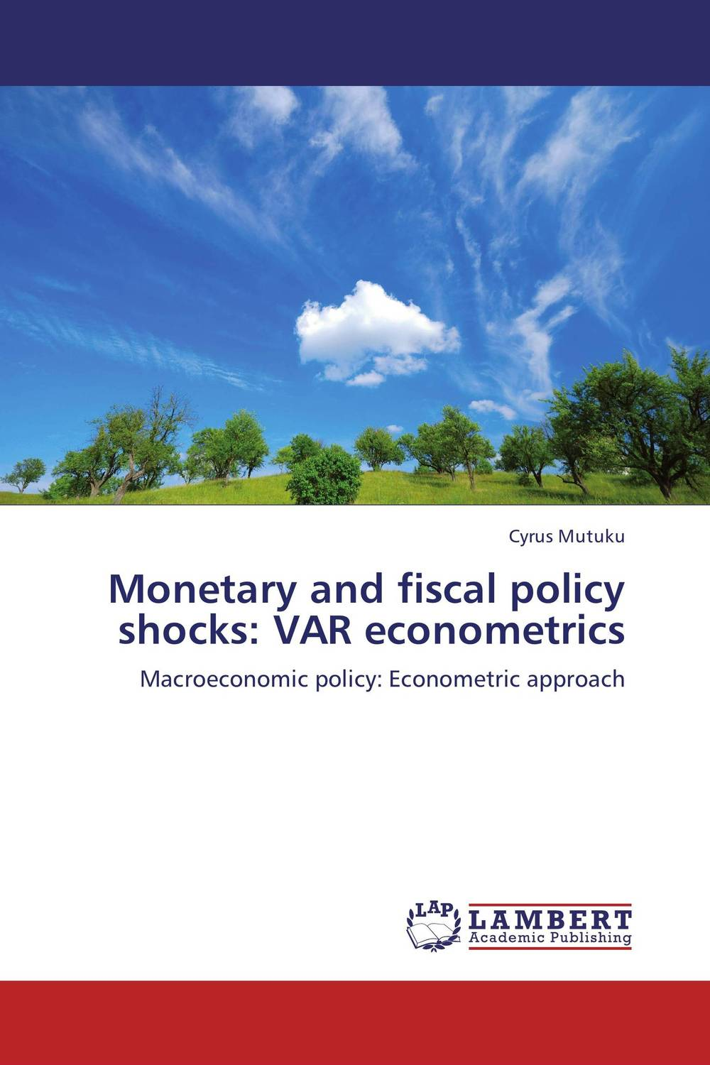 Monetary and fiscal policy shocks: VAR econometrics arcade ndoricimpa inflation output growth and their uncertainties in south africa empirical evidence from an asymmetric multivariate garch m model