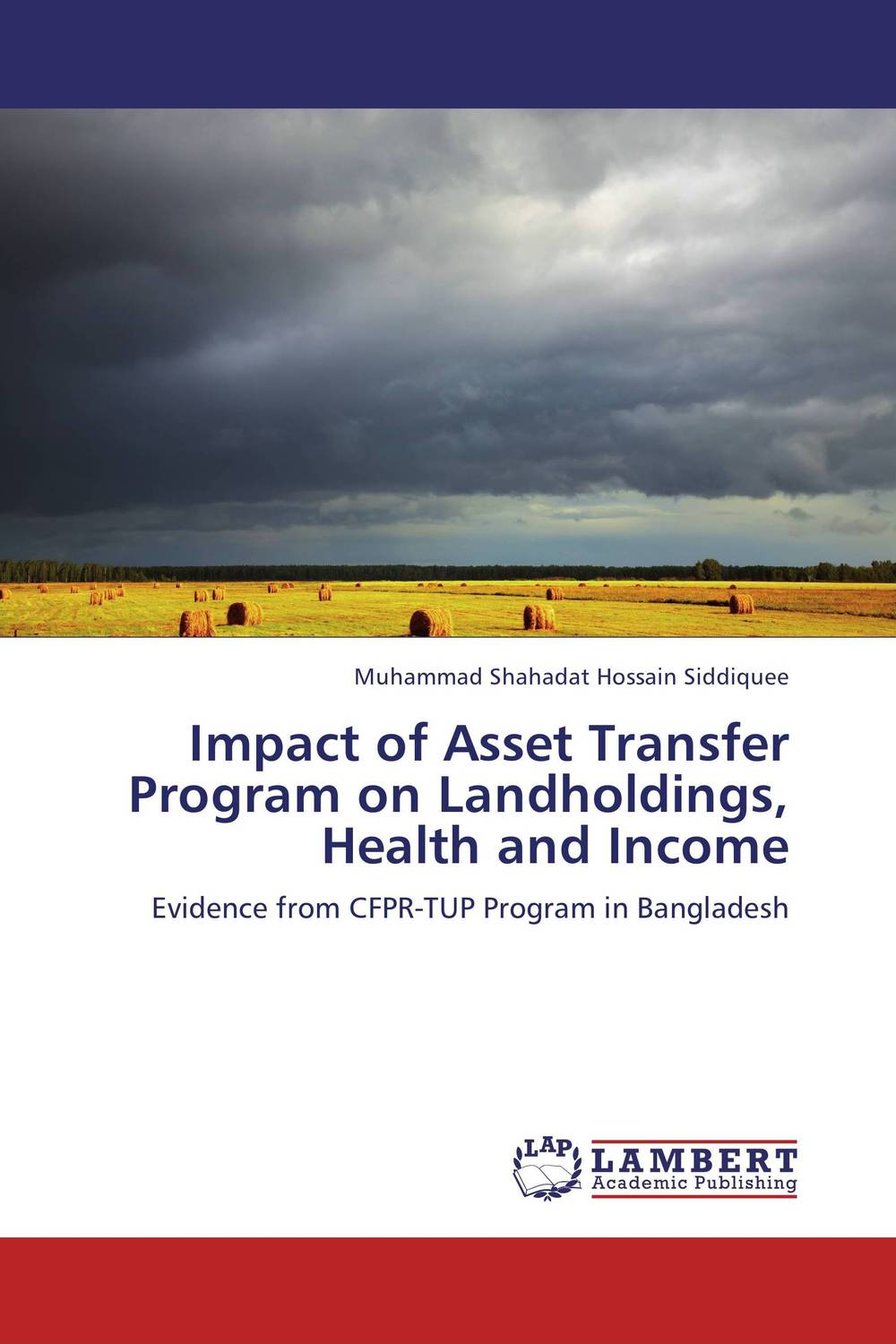 Impact of Asset Transfer Program on Landholdings, Health and Income купить