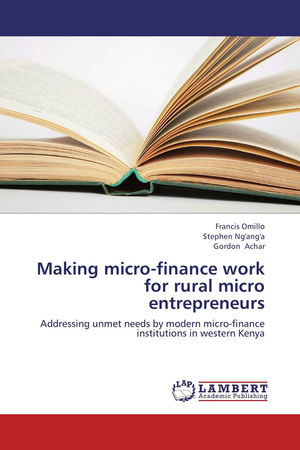 Making micro-finance work for rural micro entrepreneurs jaynal ud din ahmed and mohd abdul rashid institutional finance for micro and small entreprises in india