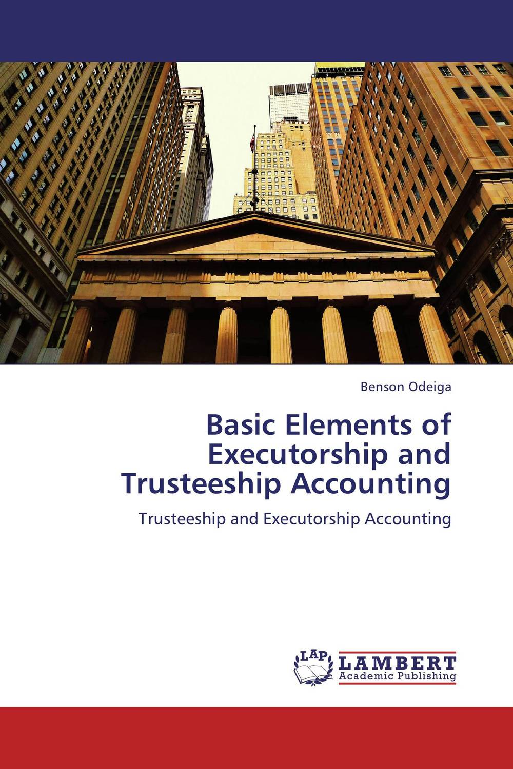 Basic Elements of Executorship and Trusteeship Accounting on the distribution of information structures and focal points