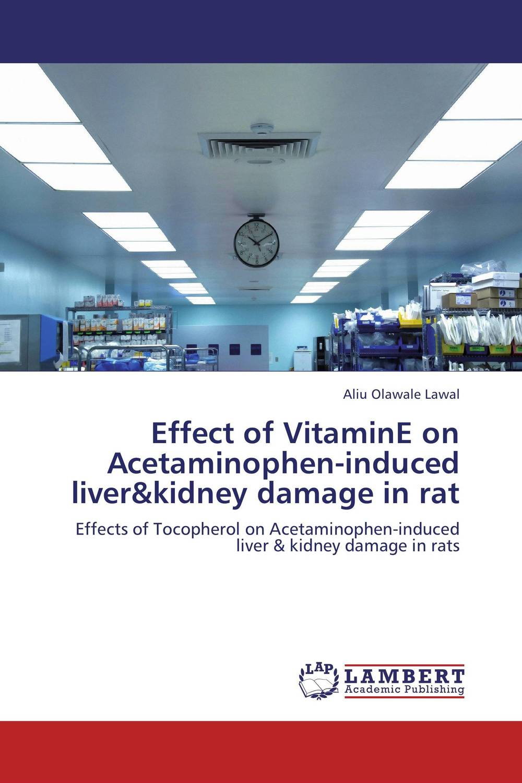 Effect of VitaminE on Acetaminophen-induced liver&kidney damage in rat in situ detection of dna damage methods and protocols