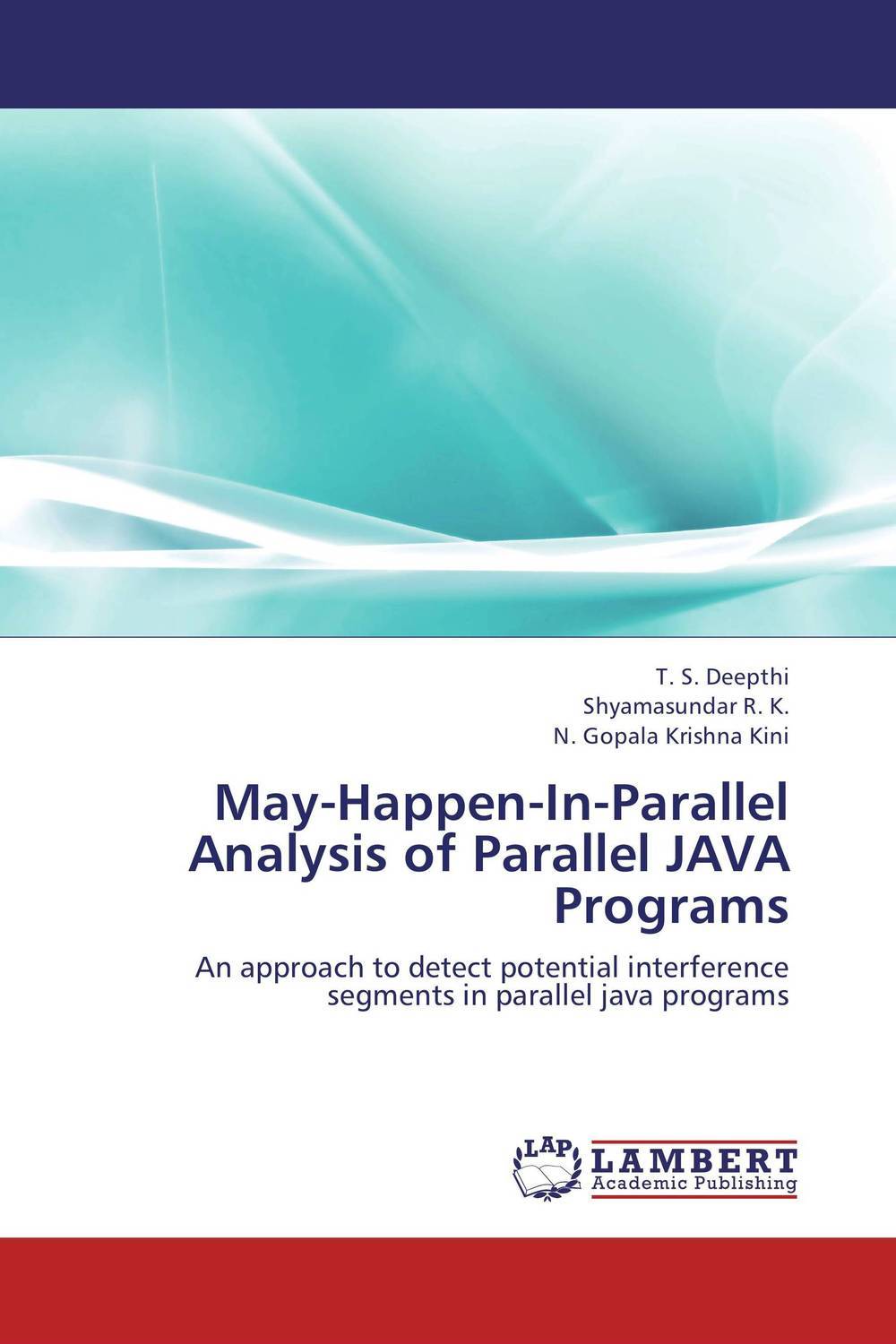 May-Happen-In-Parallel Analysis of Parallel JAVA Programs