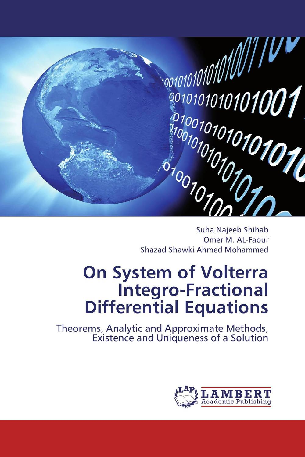 On System of Volterra Integro-Fractional Differential Equations rakesh kumar tiwari and rajendra prasad ojha conformation and stability of mixed dna triplex