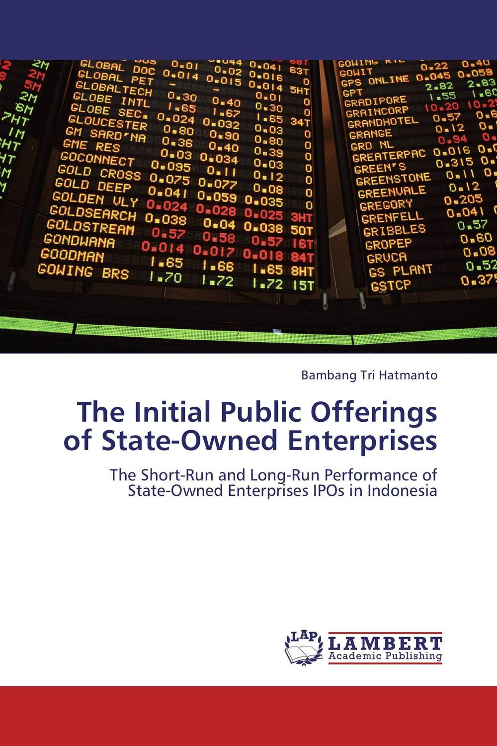 The Initial Public Offerings of State-Owned Enterprises levent ozer short and long term anomalies in initial public offerings