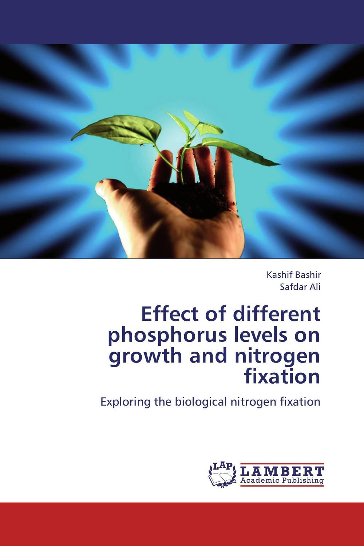 Effect of different phosphorus levels on growth and nitrogen fixation jacob thomas biological nitrogen fixation by azospirillum brasilense